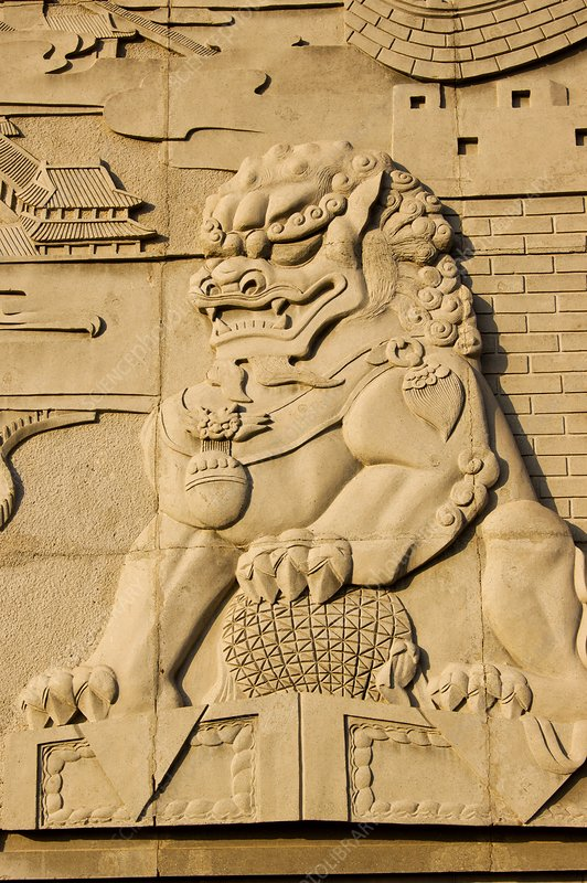Chinese lion.