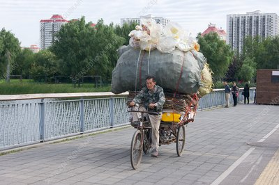 Recycling in Beijing.