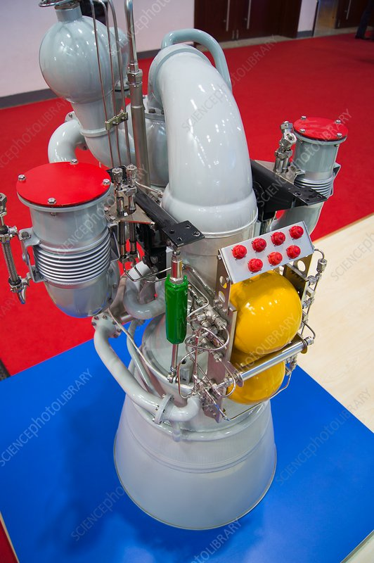 RD-810 rocket engine.