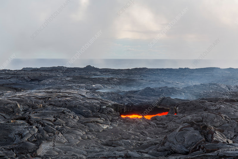 Pu'u O'o eruption, Hawaii