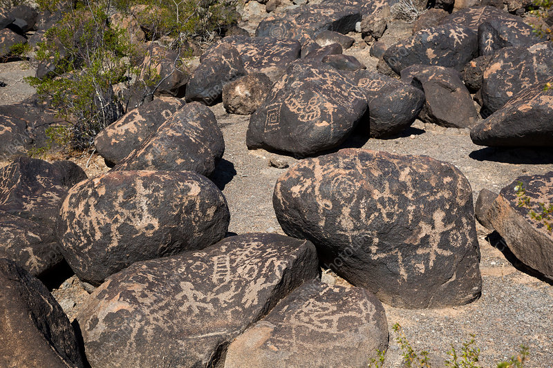 Petroglyphs, Painted Rock, Arizona, USA