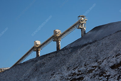Coal-loading facility at a cola mine