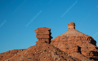 Rock formations, Valley of the Gods, Utah, USA