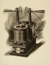 Tesla oscillator, historical illustration