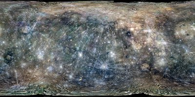 Mercury, MESSENGER global mosaic