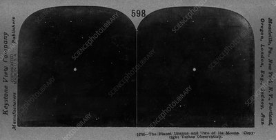 Uranus in 1910s, stereoscopic card