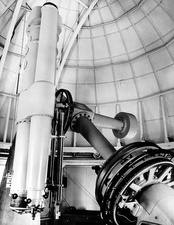 15-inch equatorial telescope at US Naval Observatory