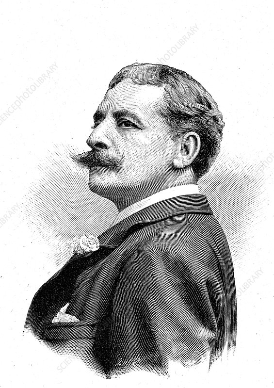 Victor Capoul, French opera singer