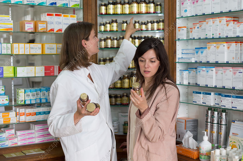 Paramedical products in pharmacy