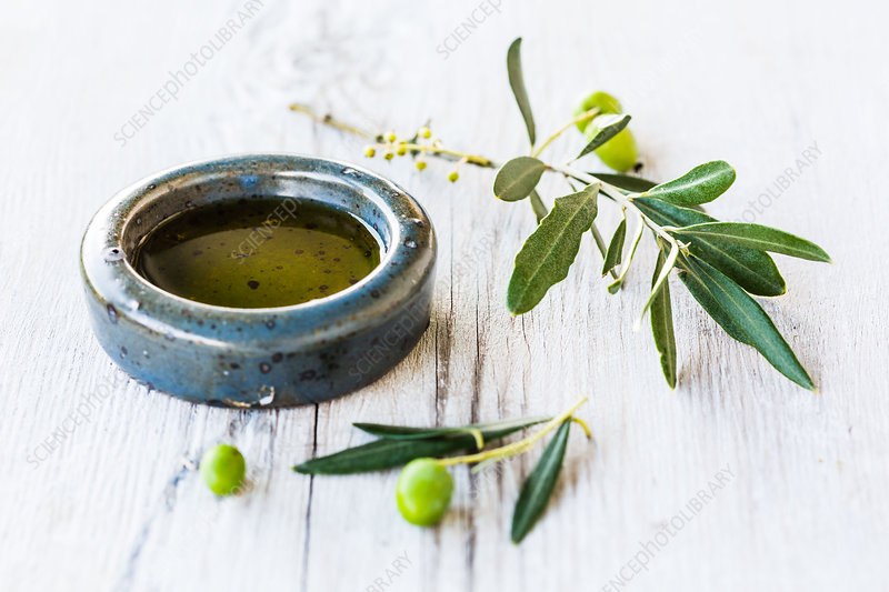 Essential oil of olive