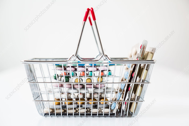 Drugs' trolley