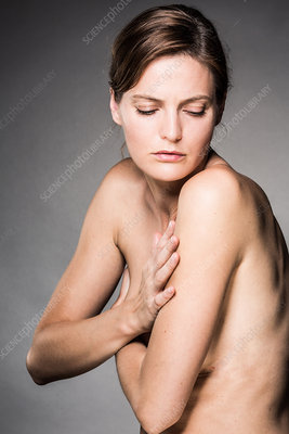 Woman's upper body