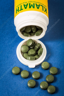 Klamath algae health pills