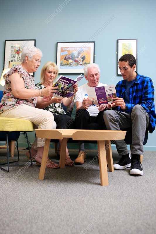 Dementia advice session