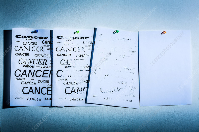 Cancer cure, conceptual image