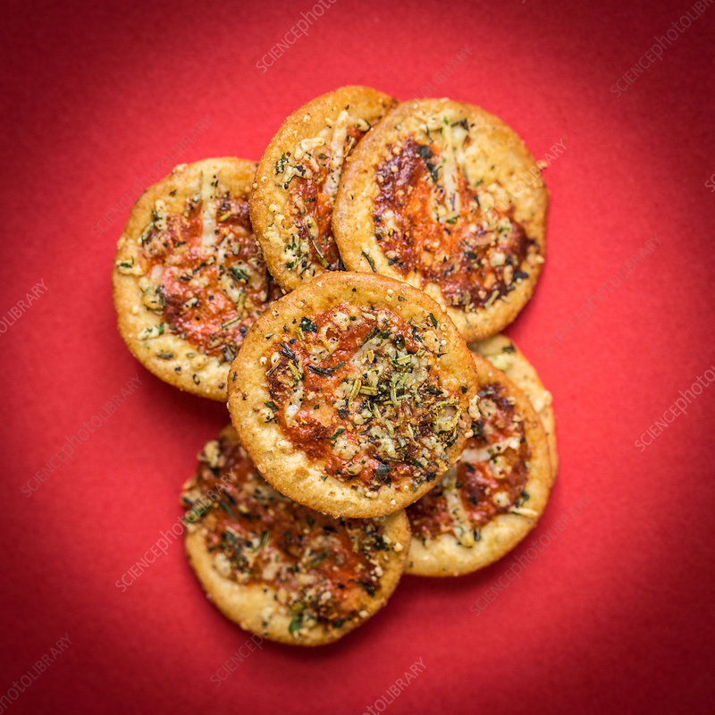 Pizza cake appetizer
