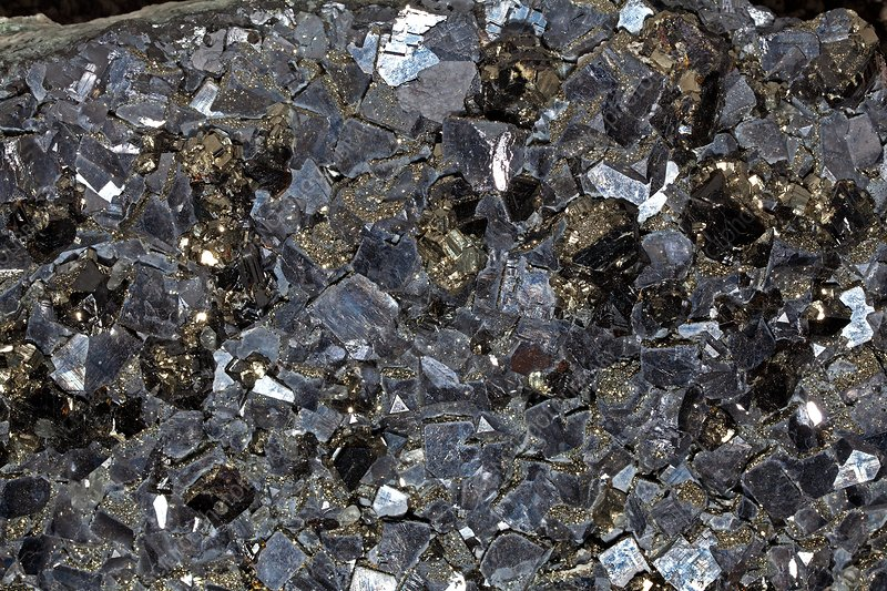 Galenite and marcasite