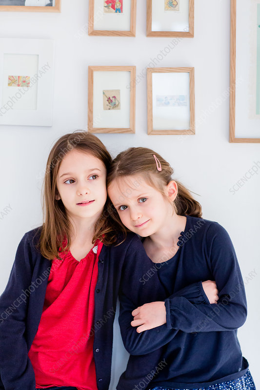 6 and 8 year old sisters