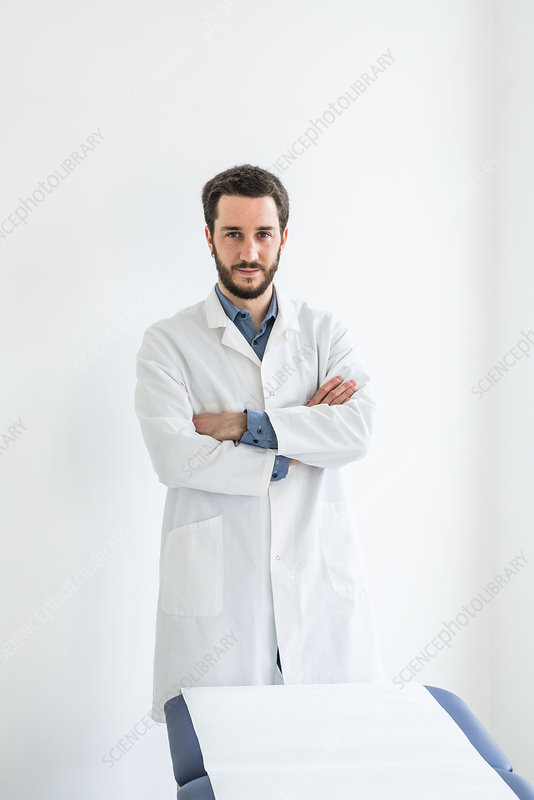 Portrait of a medical student