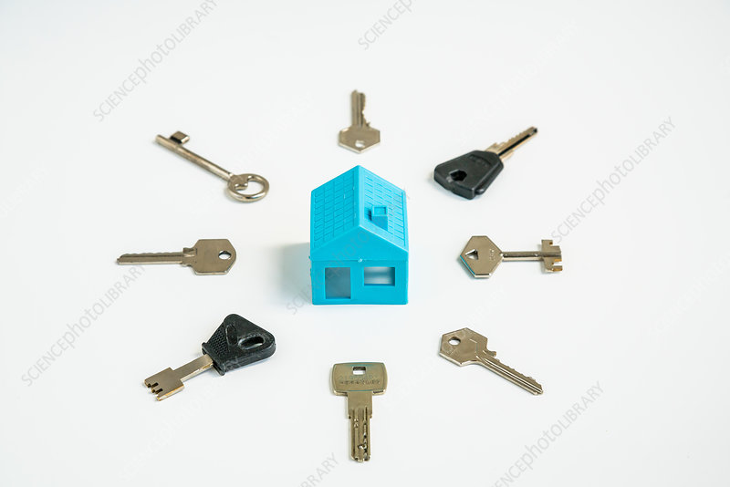 House and keys