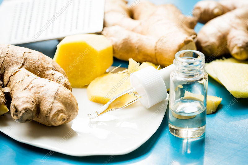 Essential oil of ginger