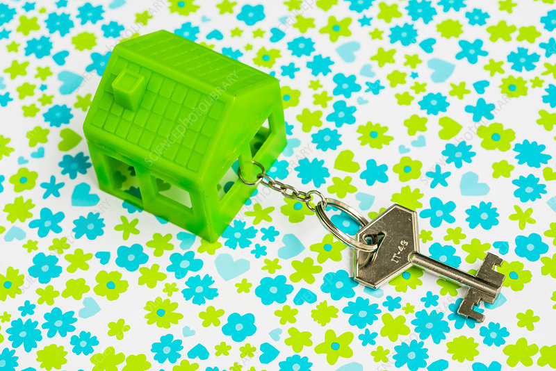 Green house and key