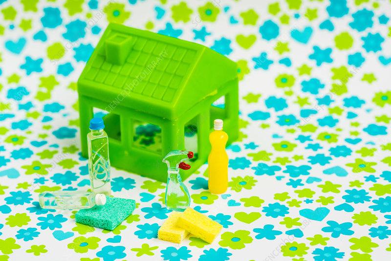 Green house and cleaning products