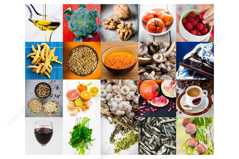 Cancer prevention with food