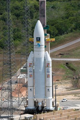 Ariane 5 rocket launch preparations, November 2016