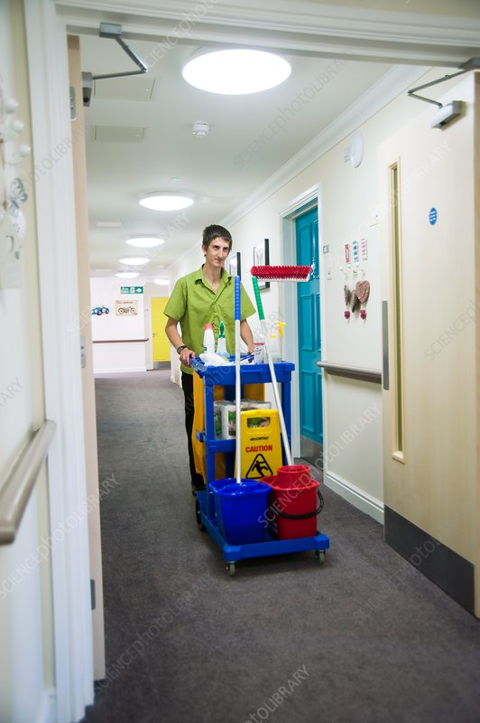 Care home housekeeping