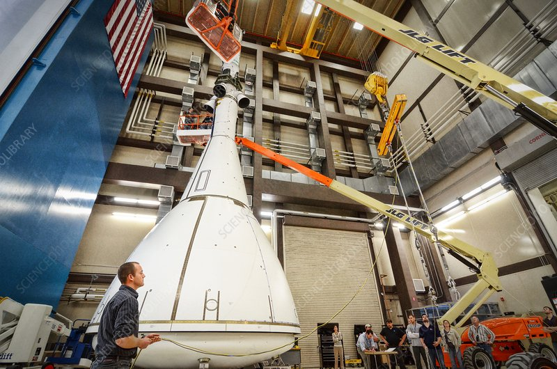 Orion launch abort system testing, 2011