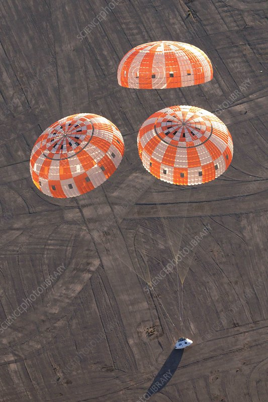 Orion parachute drop testing, 2012