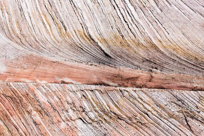Crossbedding in Zion sandstone