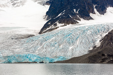 Colourful glacier, Svalbard