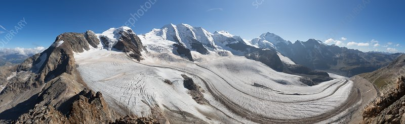Pers glacier, Switzerland