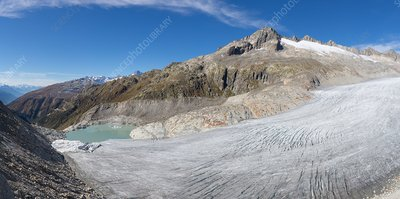 Rhone glacier tongue, Switzerland, 2016