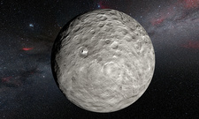 Ceres dwarf planet, illustration