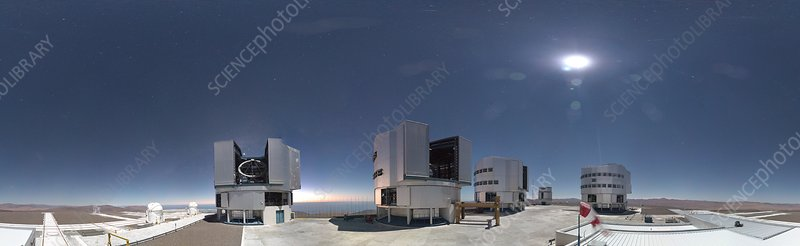 Very Large Telescope at Cerro Paranal, 2016