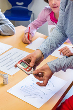 Diabetic children therapy