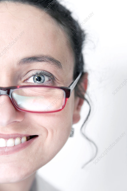 Smiling woman