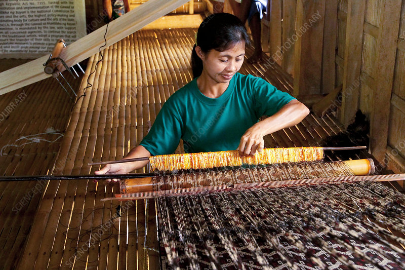 Traditional weaving, Philippines