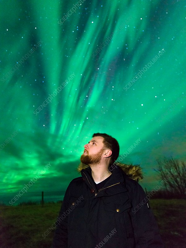 Watching the aurora borealis