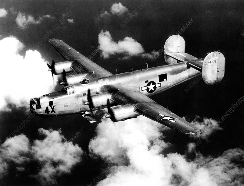 Consolidated B-24 Liberator heavy bomber