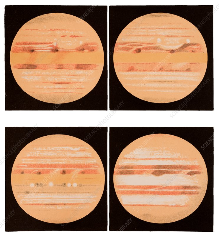 Jupiter between February and June 1897