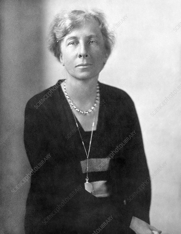 Lillian Evelyn Moller Gilbreth, US industrial psychologist