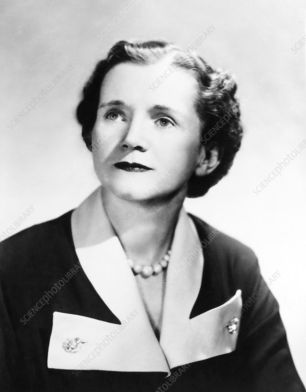 Rachel Carson, US marine biologist and author