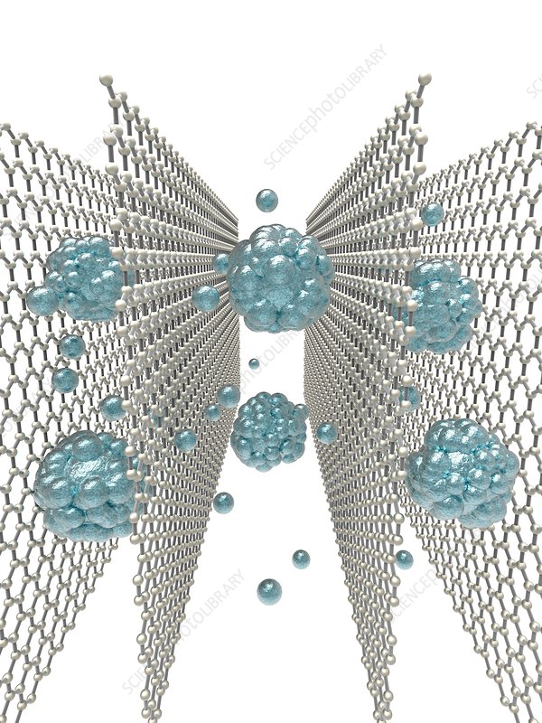 Graphene-oxide based sieve, artwork