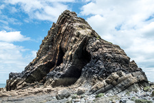 Blackchurch Rock in Crackington Formation