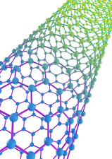 Carbon nanotube, illustration