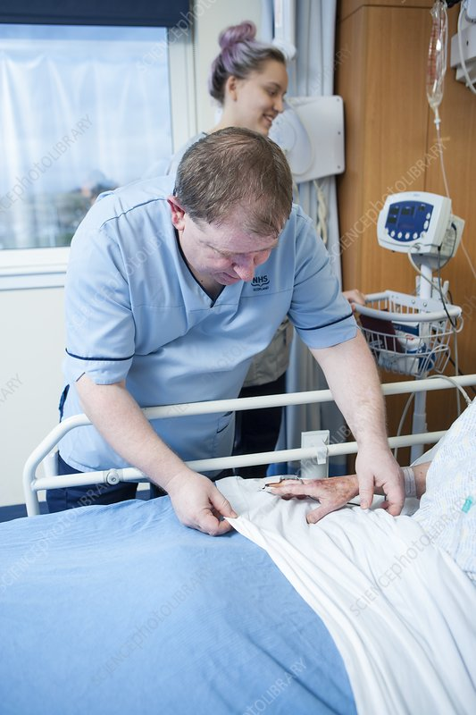 Patient care in hospital